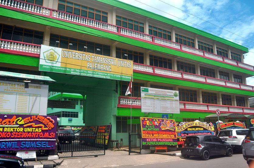 Gedung Univeritas Tamansiswa Palembang